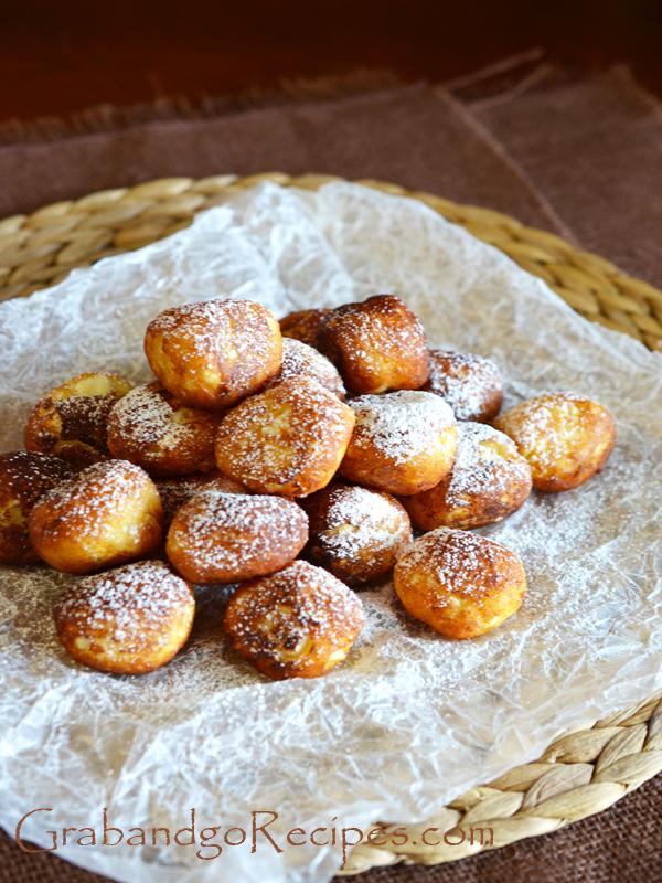 Ricota breakfast balls