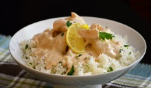 Creamy Sauce with fish