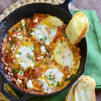 Poached Eggs in tomato sauceMain