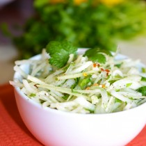 Marinated onion salad a