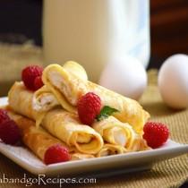 Creamy crepes