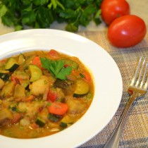 main Vegetable ragu