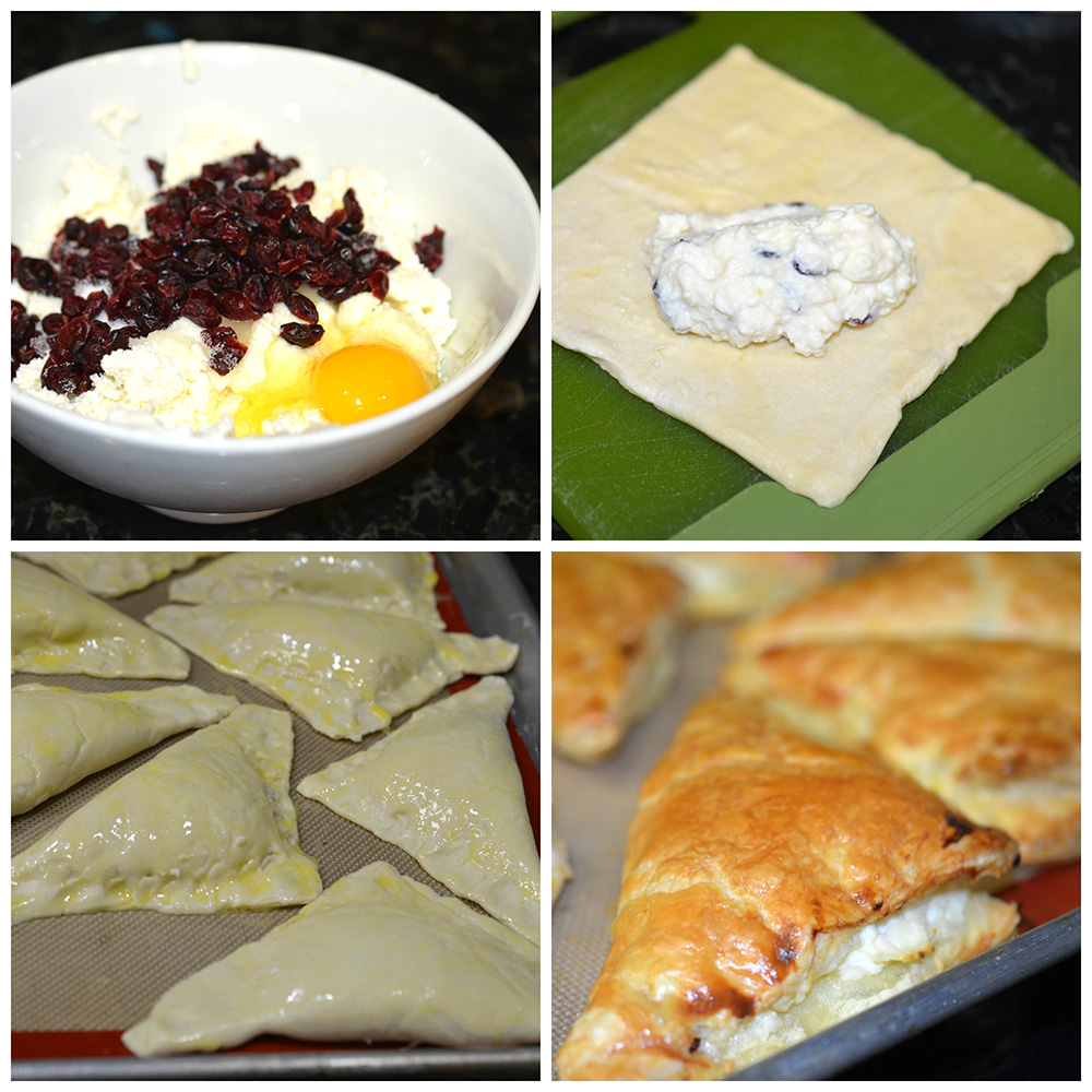 Farmers cheese turnovers 5