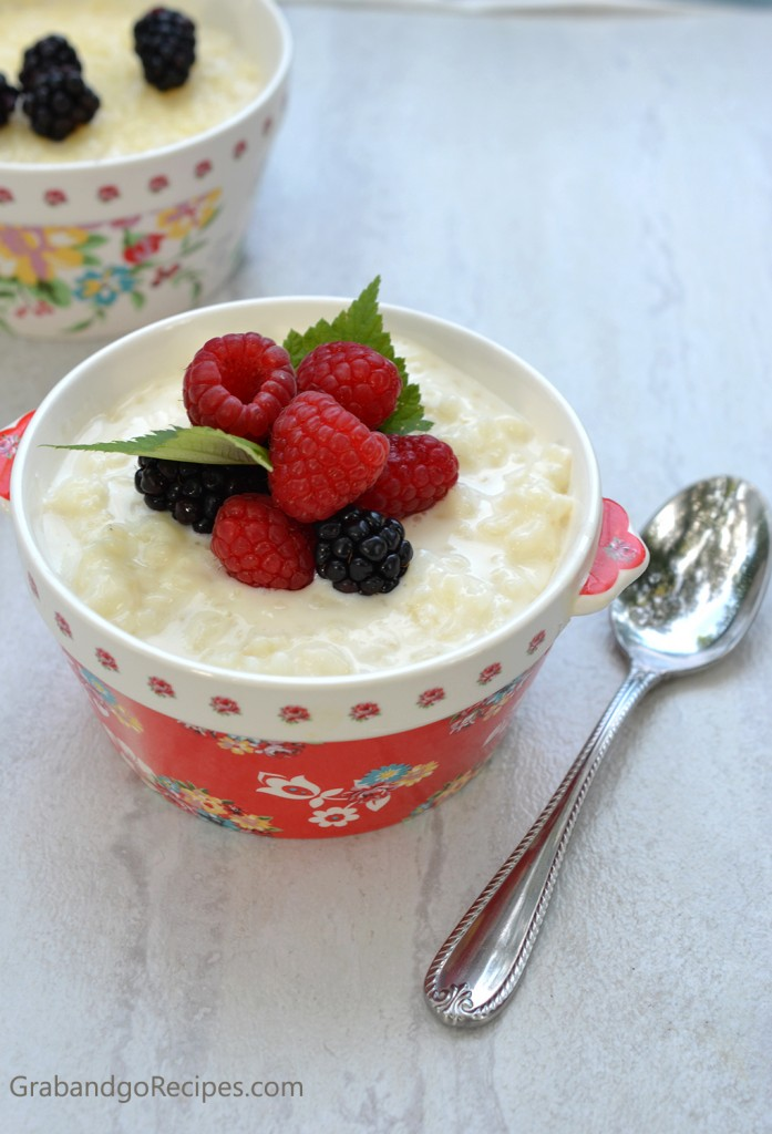 moms rice pudding