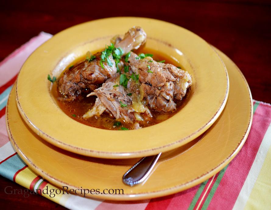 Roasted Duck- Kaurma Recipe