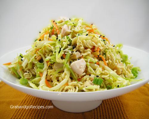 Oriental chicken salad top ramen recipe
