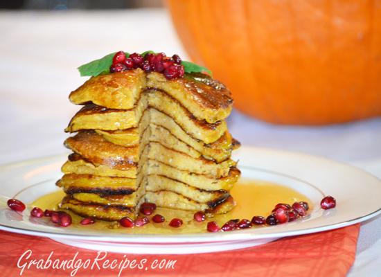 Pumpkin Oladi – Russian Pancakes Recipe