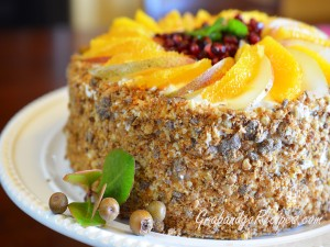 Autumn Spice Cake Recipe In A X