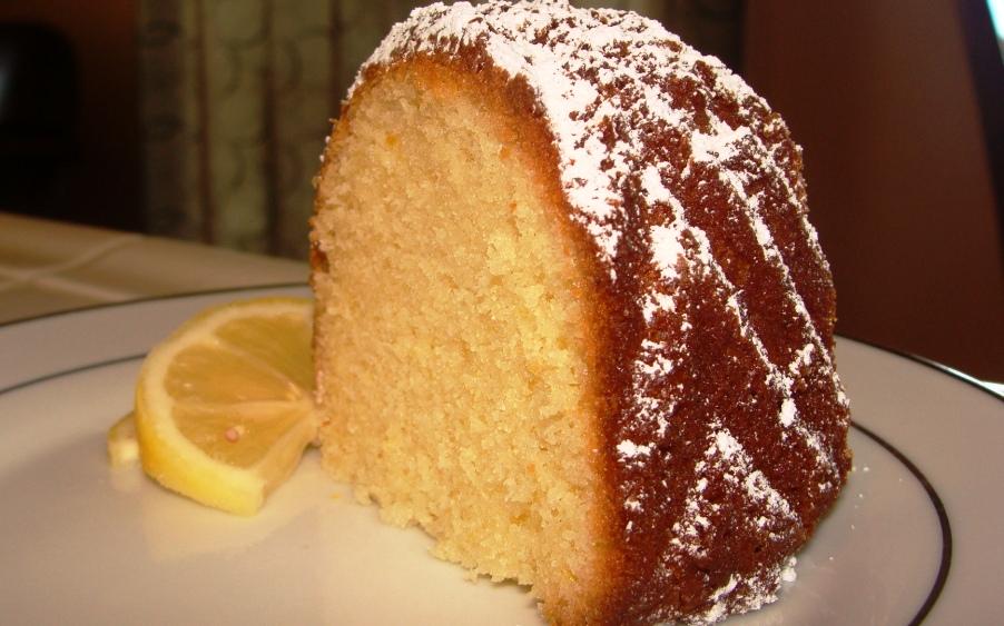 Easy Lemon Cake Recipe — Dishmaps