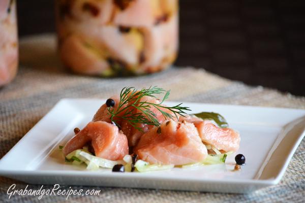 Easy Pickled Salmon Recipe