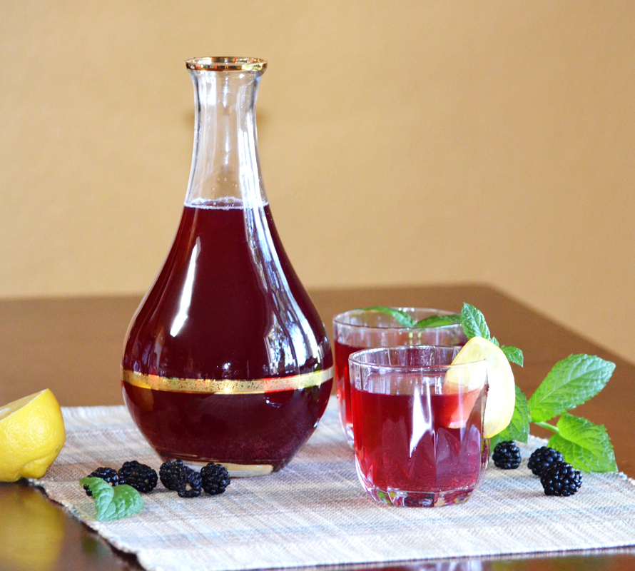 Summer Very Berry Kompot Juice Recipe