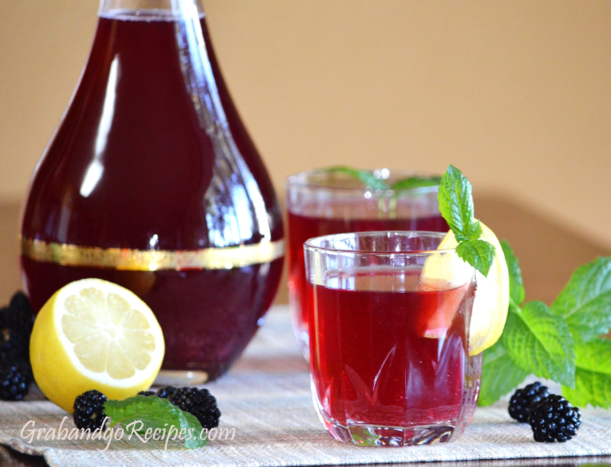 Summer Very Berry Kompot – Juice Recipe