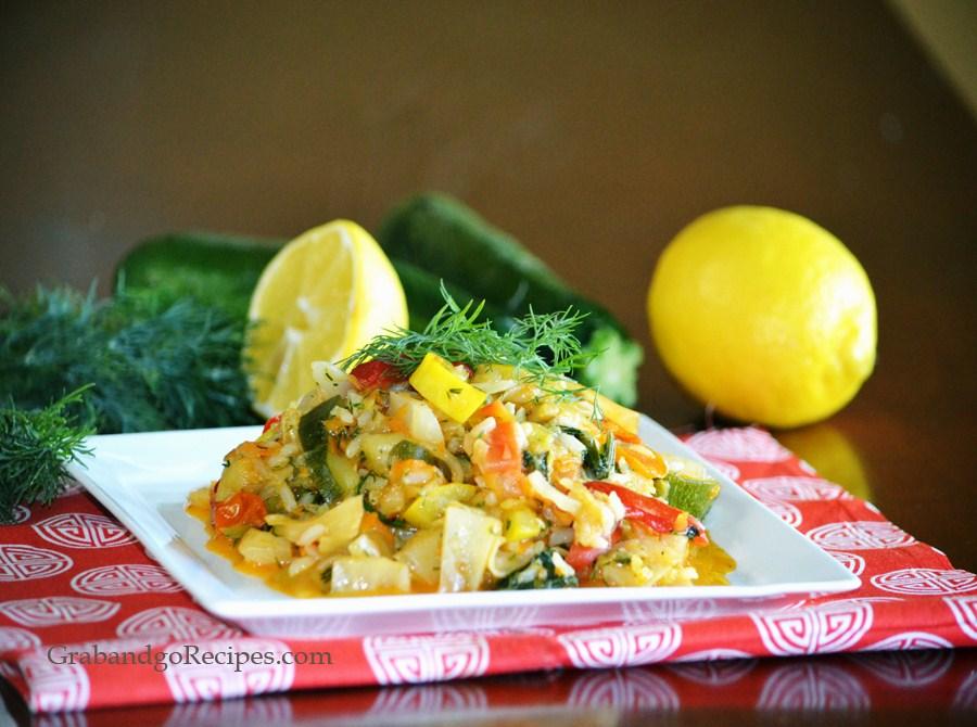 Vegetarian Braised Cabbage- Tushunaya Kapusta