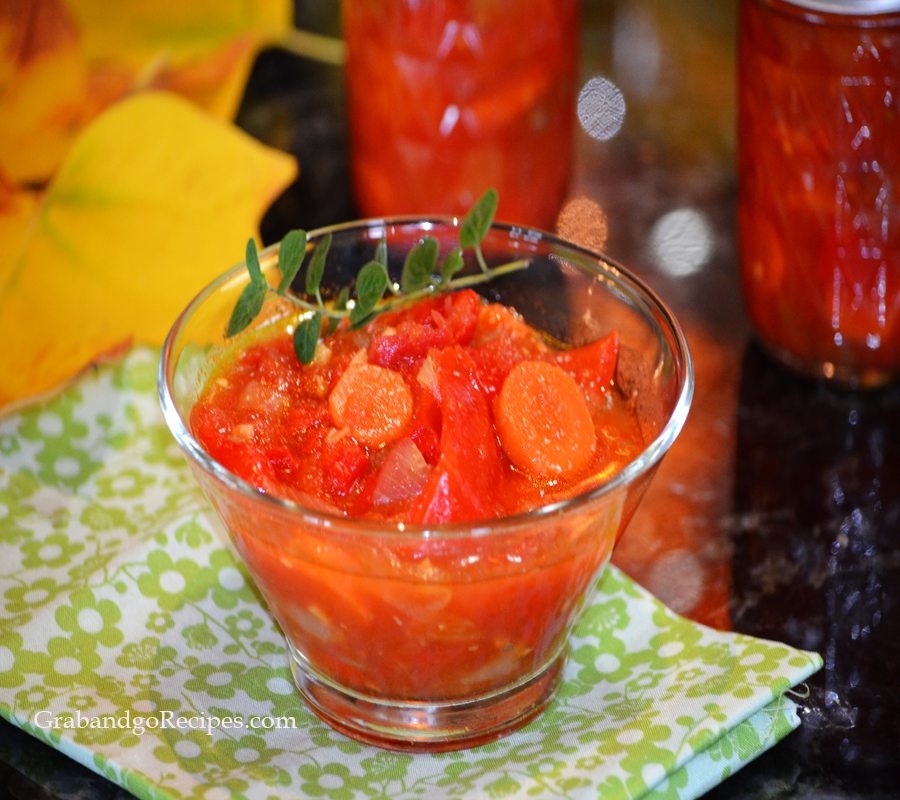 Russian Lecho – Marinated Red Peppers Recipe