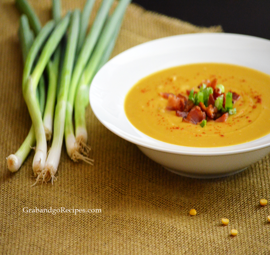 Slow Cooker Creamy Split Pea Soup