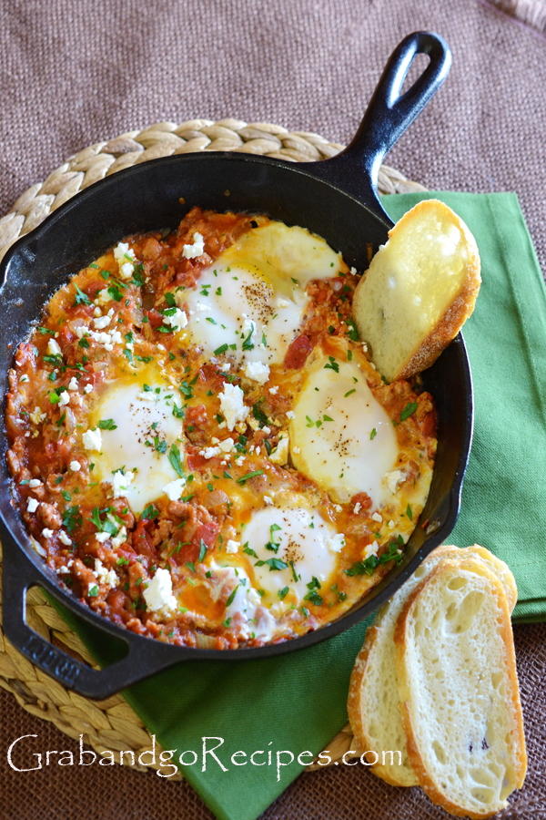 Eggs Poached in Tomato Sauce – Shakshuka