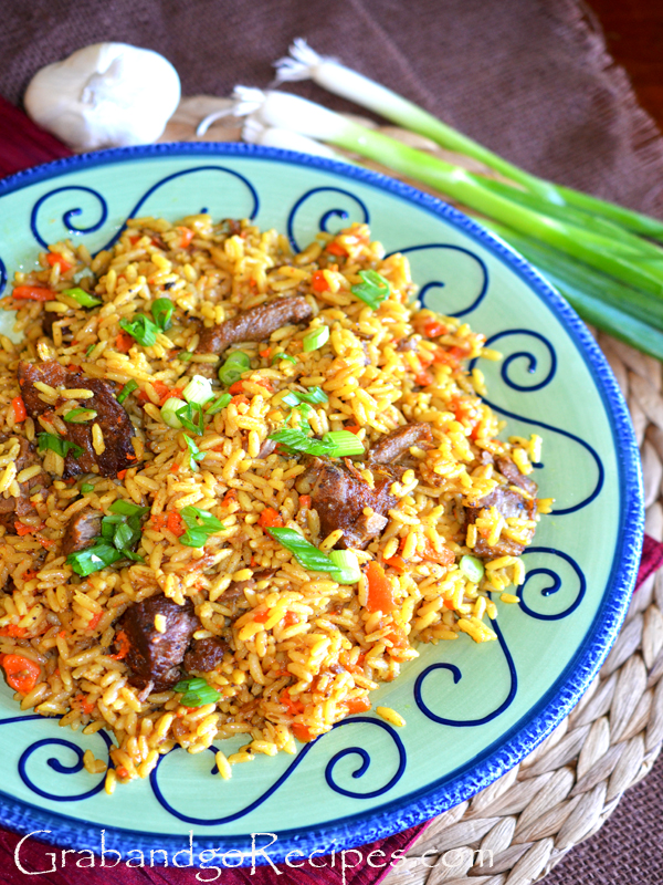 plov uzbek rice pilaf not your traditional rice pilaf it has a unique ...
