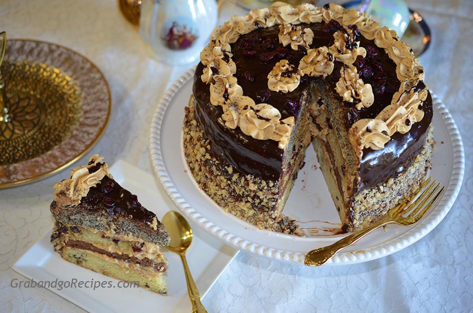 Торт черный принц с фото