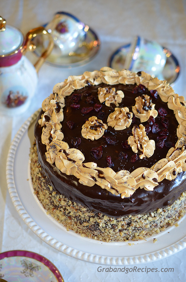 """Black Prince"" Cake"