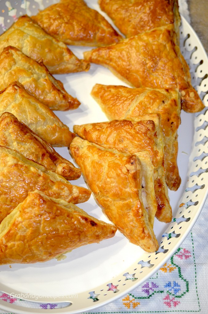 Val's White Christmas aka Farmer's Cheese Turnovers with Cranberry