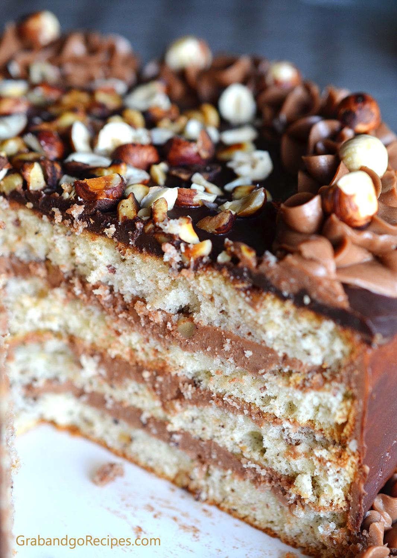 Squirrel Belochka Cake