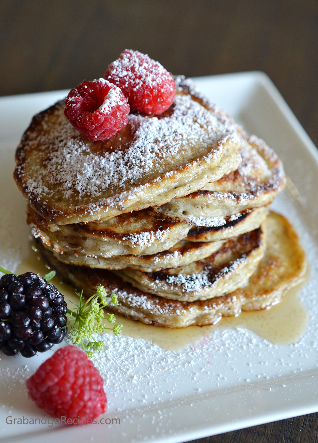 Buttermilk Flaxseed Pancakes