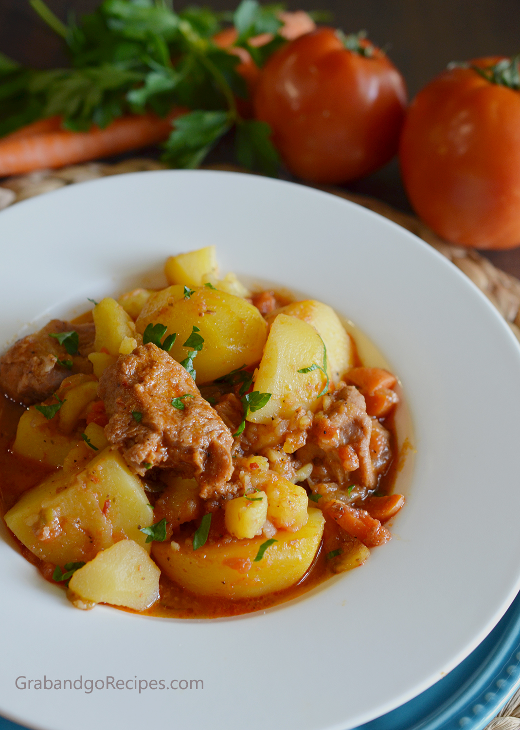 Mom's Braised Potatoes Recipe